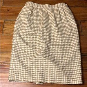 Vintage Barrie Pace wool pencil skirt 4